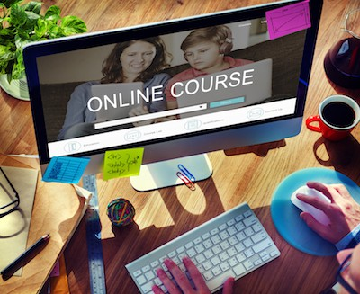 the online course creating online teacher