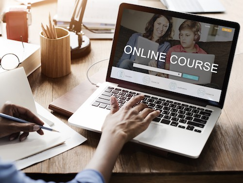 the online course creating teacher with support
