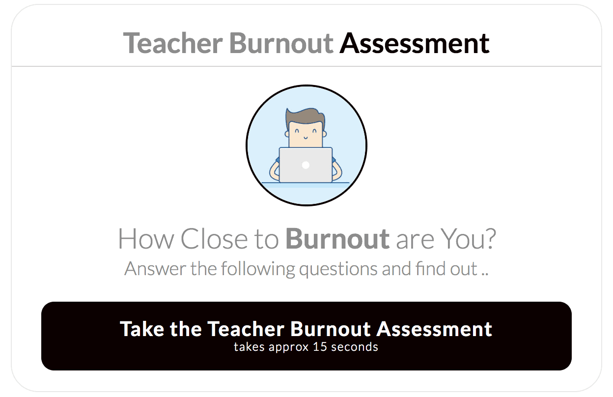 teacher burnout assessment tool